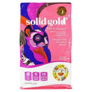 solidgold 素力高 羊肉糙米全猫粮 12磅 5.4kg  券后344元