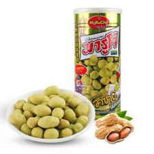 玛鲁州 泰国原装进口花生豆休闲零食花生米炒货特产 芥末味200g/罐 *11件 87.8