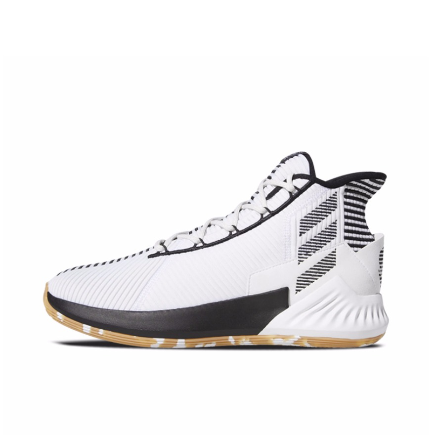 adidas D Rose 9 White/Black/Gum 50分纪念 实付到手579元
