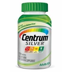 【中亚Prime会员】Centrum 善存 Silver 银宝综合维他命矿物质 50岁以上专用 220粒