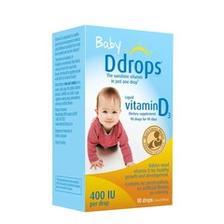 Ddrops 婴儿维生素D3滴剂 400IU 90滴