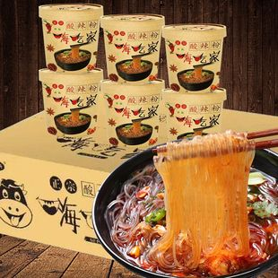 旗舰店正品 嗨吃家酸辣粉6桶装 券后¥22.5