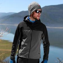 探路者 HIMEX高端极地系列 男女款软壳冲锋衣 美国杜邦防水涂层 187元包邮