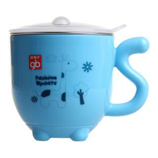 gb 好孩子 儿童双层隔热不锈钢杯 蓝色 *5件 109.5元(合21.9元/件)