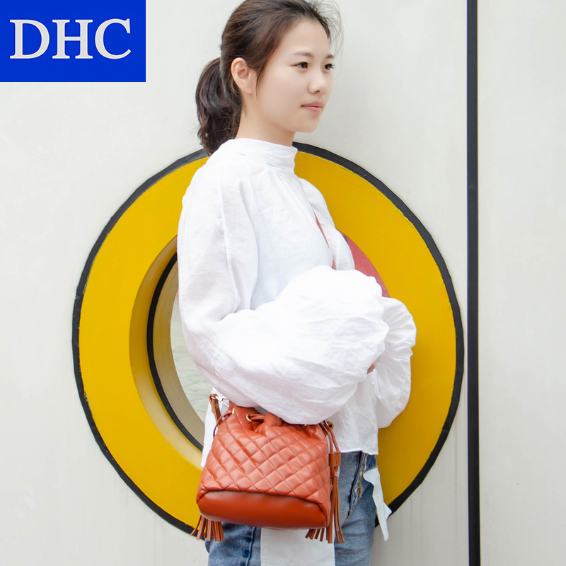 ¥29.8 DHC小香风大包包水桶包女