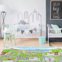 $42.99 Babycare 城市道路图案 中号爬行垫