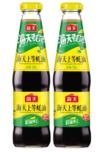 ¥9.99 海天 上等蚝油 火锅蘸料520g*2