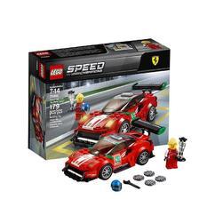 ¥99 LEGO 乐高 Speed赛车系列 75886 法拉利 488 GT3 Scuderia Corsa车队