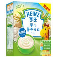 亨氏 宝宝铁锌钙营养米糊米粉 券后¥25.42