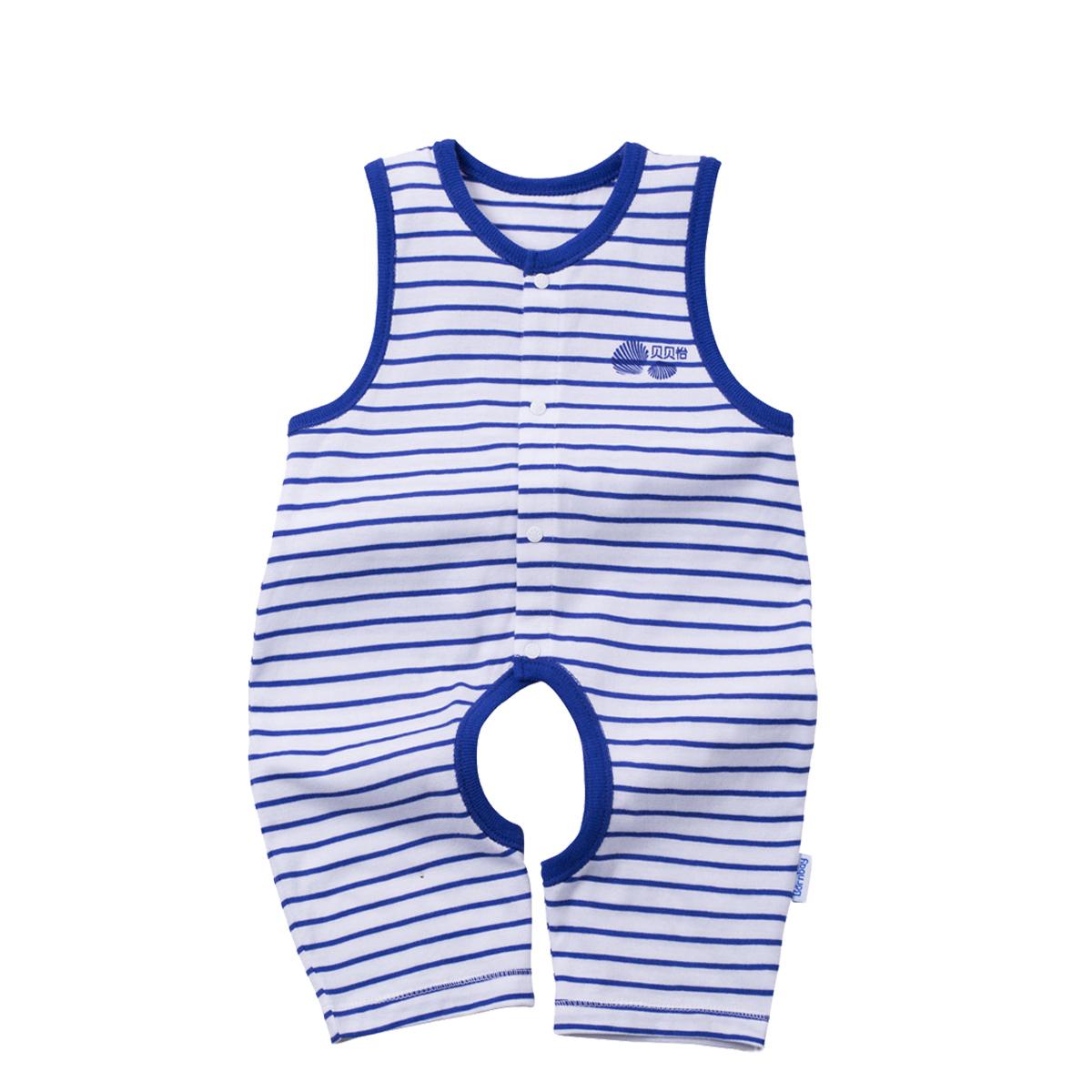 贝贝怡 BB1068 夏装婴儿连体衣 19.9元