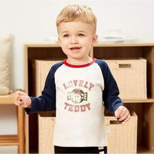 TINSINO 纤丝鸟 儿童长袖T恤 *2件 39.8元包邮