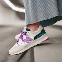 5折优惠+包邮,$35收爆款 New Balance复古时尚运动鞋促销,男女都有