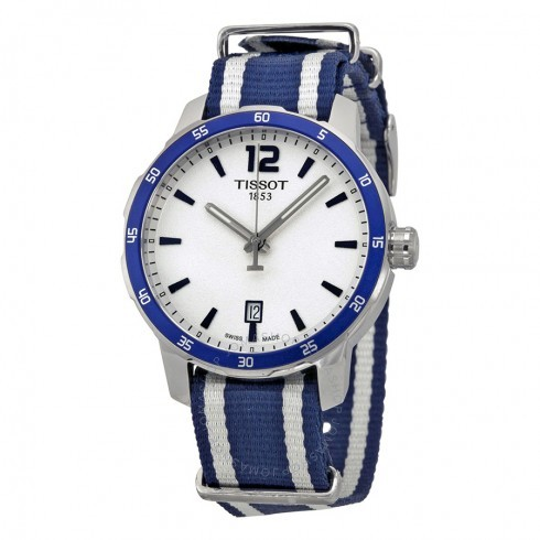 折合734.94元 TISSOT 天梭 Quickster T095.410.17.037.01 男女通用时装腕表