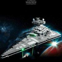 $699.99送$70积分+送礼 VIP已可入手 LEGO官网 星战UCS级 帝国歼星舰75252,10月1日