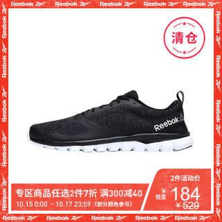 Reebok锐步官方 SUBLITE AUTHENTIC 4.0 男子运动跑步鞋 AVP65 黑色-BS7106 42 *2件 329.6元(合164.8元/件)