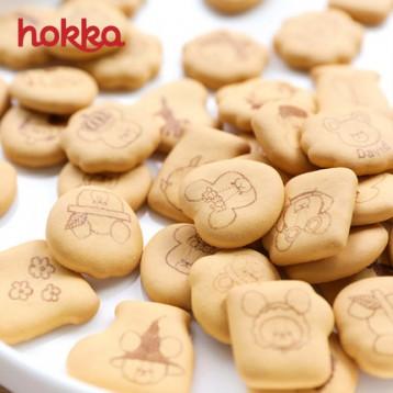 日本进口 百年品牌 hokka 北陆制果 小熊子饼干 15g*4袋 6.9折 ¥11