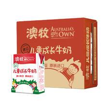 Australia's Own 澳牧 儿童成长牛奶 200ml 15盒 普通装  券后113元