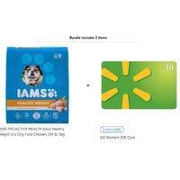 $16.75 + $20礼卡 相当于倒赚$3 IAMS 控制体重类型狗狗粮食 29.1磅