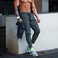 单吸单排面料:德国 Gym Aesthetics 男士 跑步运动长裤 券后69元包邮