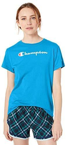 Champion 女式经典针织短袖 T 恤 prime含税到手约45.99元