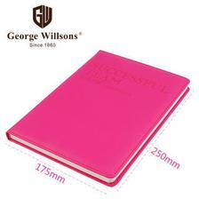 16.8元 George Willsons 乔先生 成功之师b5 五项管理手册商务记录本 樱花粉