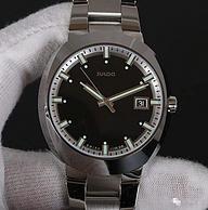 RADO雷达 D-Star 帝星系列 R15945163 男士 陶瓷腕表 399美元约¥2745(海囤全球4759元)