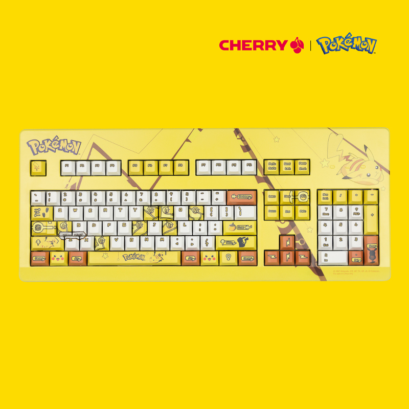 新品发售、双11预售: CHERRY 樱桃 G80-3000 机械键盘 皮卡丘限定款 红轴 1899元包邮(需50元定金)