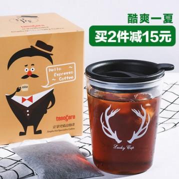补券19元包邮!新品上市 TASOGARE 隅田川 京度冷萃咖啡 10包 领20元优惠券 送梅森杯