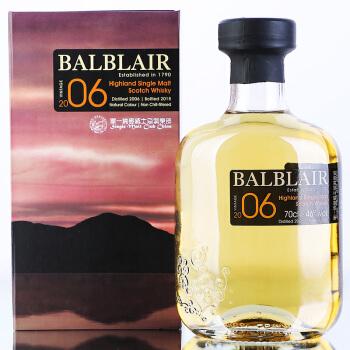 手慢无: 巴布莱尔 Balblair 洋酒 2006 节庆版 苏格兰 794.5元包邮