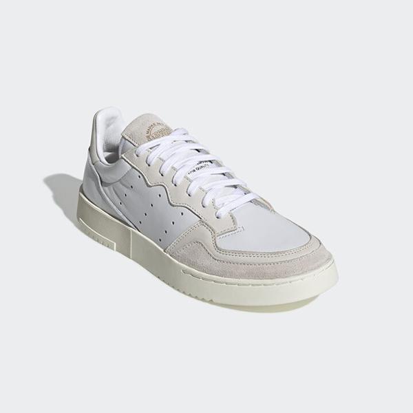 adidas Supercourt Grey/White 米灰 实付到手480元