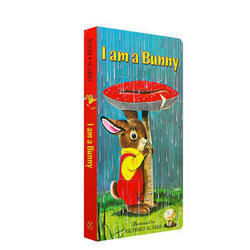 《I Am a Bunny》我是一只小兔子 英文原版绘本(纸板书) 4.9元包邮(需用券)