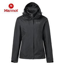 Marmot 土拨鼠新 r49390 女士鹅羽绒三合一冲锋衣 1099元包邮