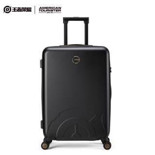 [王者荣耀美旅合作款] 拉杆箱男女商务行李箱静音万向轮TSA密码锁旅行箱 24英寸 TZ8黑色LOGO款 679.1元