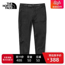 双11预售: THE NORTH FACE 北面 46GG 男士户外防泼水长裤 388元包邮(需定金,11