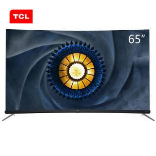 TCL 65Q7 65英寸 曲面 4K 液晶电视 6999元