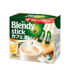 日本味之素旗下 AGF 真1秒速溶 减糖低卡牛奶咖啡 30条 38元包邮 重回好价