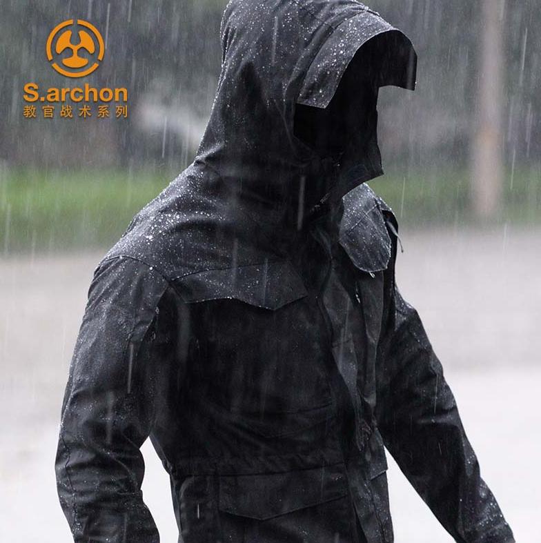 美国杜邦三防涂层:S.archon 男士战术机能冲锋衣 券后93元包邮 买手党-买手聚集的地方