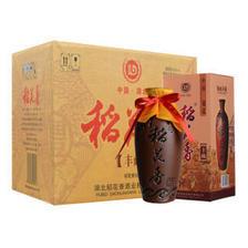 稻花香 白酒 52度浓香型 陶坛丰藏 500ml*6瓶 整箱礼盒装(内送2支手提袋) 195