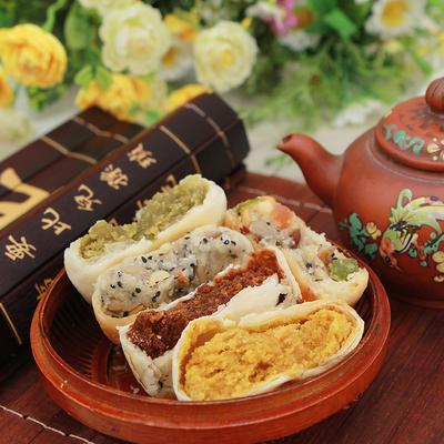 老式酥皮五仁月饼散装多口味纯手工酥皮月饼 券后14.9元
