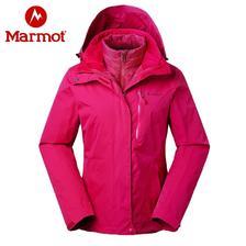 双11预售: Marmot 土拨鼠 V45290 女式防水套三合一羽绒内胆冲锋衣 1199元包邮