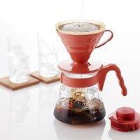 日本直邮¥79 Hario 家用咖啡壶套装 滴滤咖啡壶+滤纸+量勺