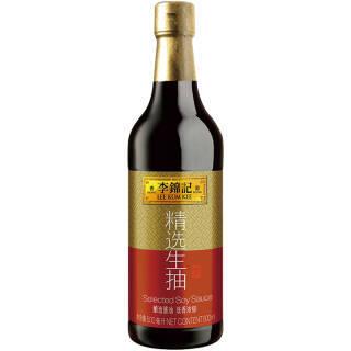 李锦记 精选生抽 酿造酱油 500ml 7.9元