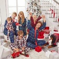 7折 圣诞节全家福拍起来 macys.com 亲子家居服特卖 超多款可选
