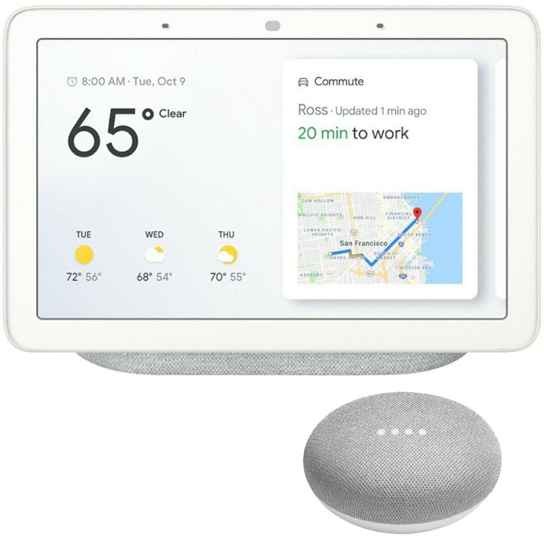 监控、控制、语音、触控大屏!Google 谷歌 家庭助手 GA00516-US 57.8美元约¥409 买手党-买手聚集的地方