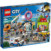 18日0点: LEGO 乐高 City 城市系列 60233 甜甜圈店开业 489.3元包邮'