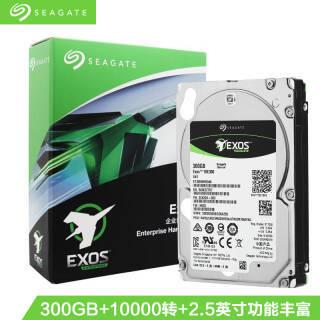 希捷(Seagate)300GB 128MB 10000RPM 企业级硬盘 SAS接口 希捷银河Exos 10E300系列(ST300MM0048) 899元