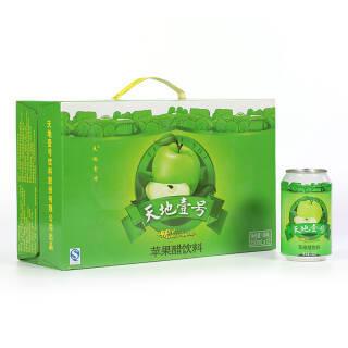 天地壹号 苹果醋饮料330ml×12罐 整箱(新老包装随机发货) 49.8元
