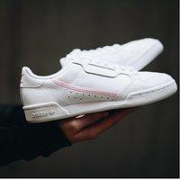 $23.59(原价$80) adidas Continental 80 女款小白鞋超好价