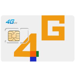 手机卡全国通用4g纯流量上网卡 ¥1