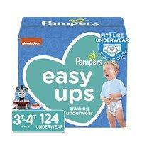 额外立减$5 低至$0.23每片 Pampers Easy Ups 男女童如厕训练裤热卖,2T-5T尺寸全